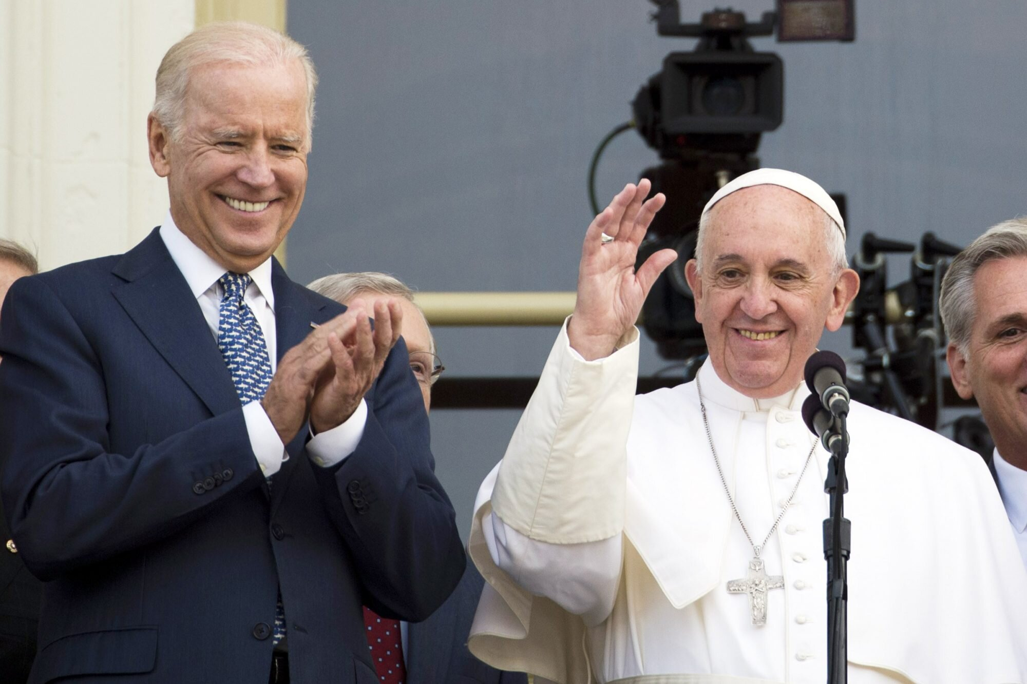 Pope Francis and President Biden